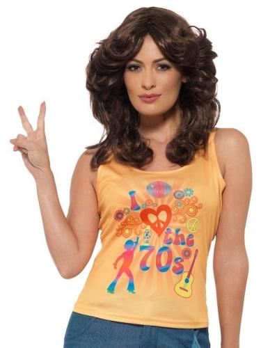 70er-Jahre Shirt für Damen i Love the 70s bunt