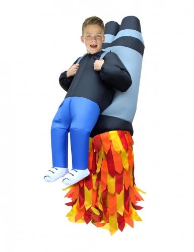 Jetpack-Huckepack-Kinderkostüm Morphsuits™ bunt