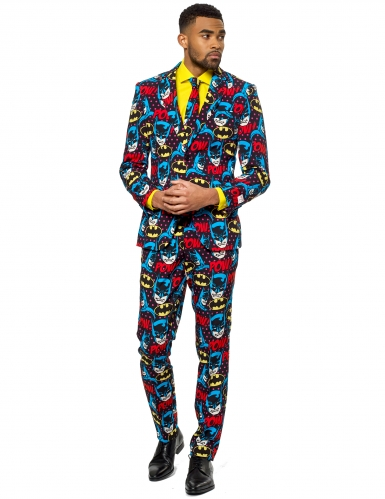 Mr. Batman™-Opposuits Herrenanzug Superheld bunt