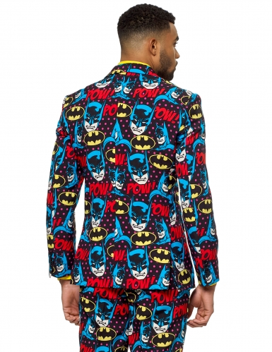 Mr. Batman™-Opposuits Herrenanzug Superheld bunt-1