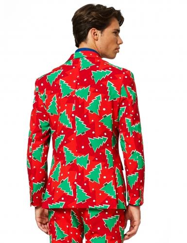 Mr. Christbaum Opposuits™-Anzug für Herren Weihnachten rot-1