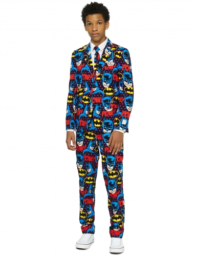 Mr. Batman™-Opposuits Anzug Teenager-Kostüm bunt