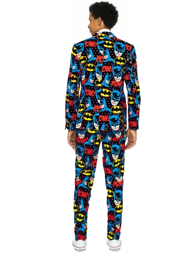 Mr. Batman™-Opposuits Anzug Teenager-Kostüm bunt-1