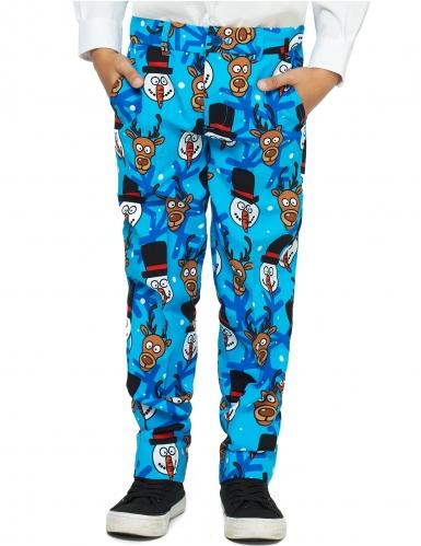 Mr. Winter Opposuits™-Anzug für Kinder bunt -2