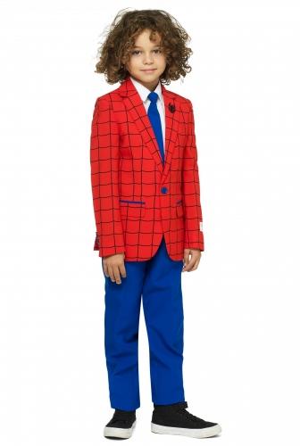 Mr. Spider Man™-Opposuits Anzug für Kinder blau-rot