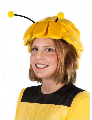 Biene Maja™-Kopfbedeckung mit Fühler Perücke gelb-schwarz