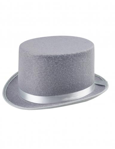 Edelmann Zylinder Kostümzubehör für Herren grau-1