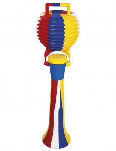 Clowntröte Kostümzubehör bunt 50cm