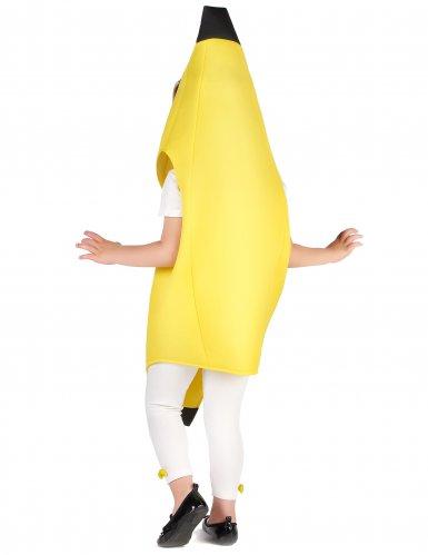 Lustiges Bananen-Kostüm für Kinder Früchte gelb-3
