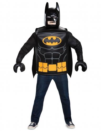 Batman™Lego-Kostüm für Erwachsene Lizenz schwarz-gelb