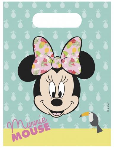 Minnie™- Geschenktüten Kindergeburtstag 6 Stück bunt 23x16,5cm