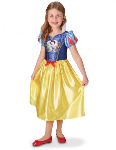 Disney™ Schneewittchen-Lizenzkostüm für Kinder Märchen-Prinzessin blau-gelb