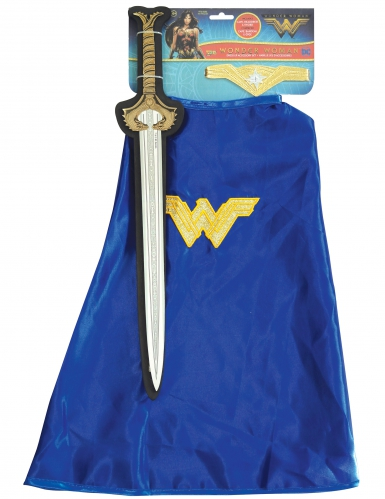 Wonder Woman™ Kostümset für Kinder blau