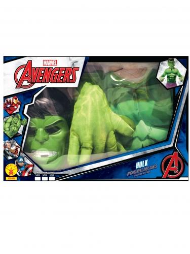 Hulk™-Kinderkostüm in Geschenkbox Marvel™-Lizenz grün-1