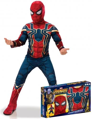 Iron Spider™-Kinderkostüm Deluxe Infinity War™-Lizenz bunt