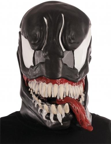 Venom™-Maske Marvel™-Lizenzartikel für Erwachsene schwarz