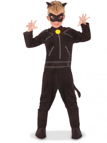 Cat Noir™-Lizenzkostüm für Kinder Miraculous™ schwarz
