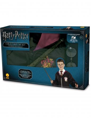 Harry Potter™- Set 3-teilig Lizenzartikel bunt-1