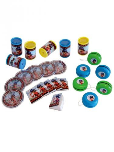 Ladybug™-Superhelden Geschenk-Set 24-teilig bunt