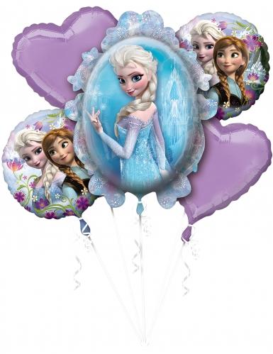 5 Partyballons Die Eiskönigin