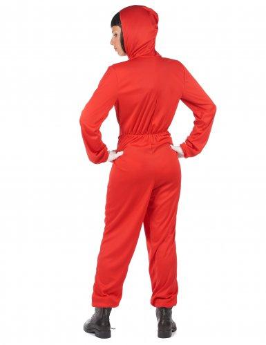 Bankräuber-Verkleidung für Erwachsene rot-3