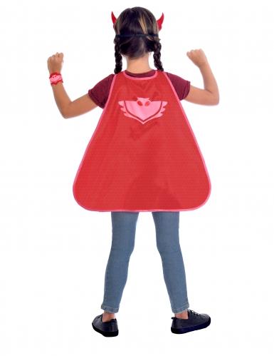 PJ Masks™-Eulette Kostüm-Set Lizenz für Kinder rot-1