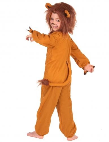 Löwen-Kinderkostüm Karneval Tier-Verkleidung braun-2