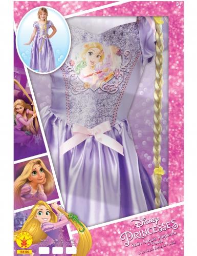 Rapunzel™-Kinderkostüm für Mädchen mit Perücke Disney™ lila-1