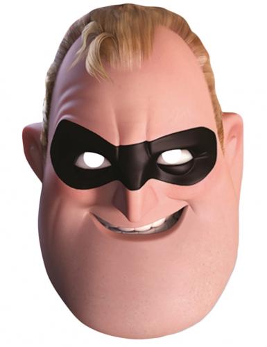 Die Unglaublichen™-Mr. Incredible Maske Lizenzprodukt beige