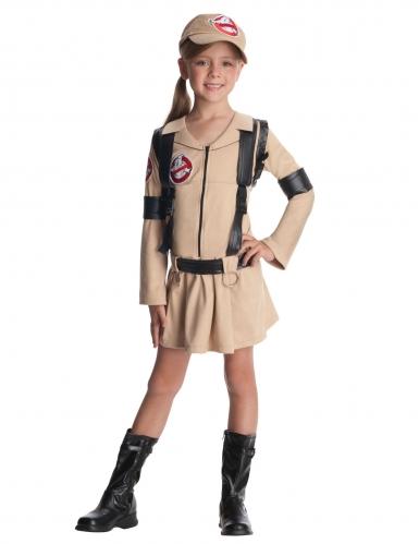 Ghostbusters™ Kostüm mit Rucksack für Mädchen