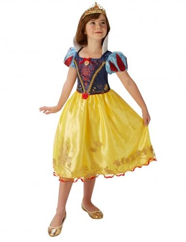 Märchenhaftes Schneewittchen™-Mädchenkostüm Lizenz gelb-blau-rot