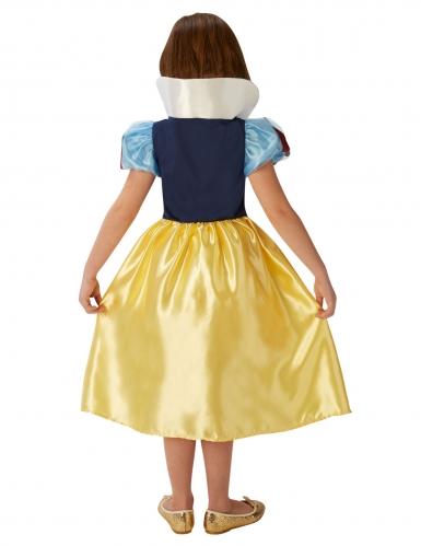 Märchenhaftes Schneewittchen™-Mädchenkostüm Lizenz gelb-blau-rot-1
