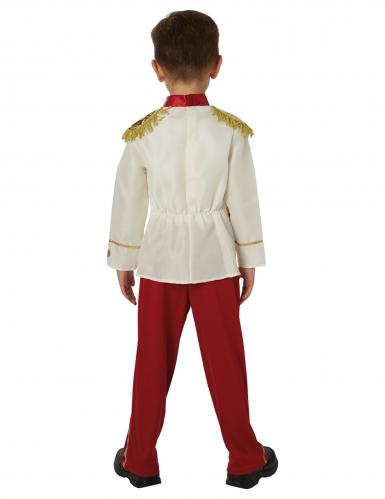 Prinz Charming™-Kostüm für Jungen Disney™-Lizenz weiss-rot-gold-1
