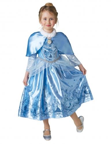 Aschenputtel™-Lizenzkostüm für Kinder Cinderella™ blau