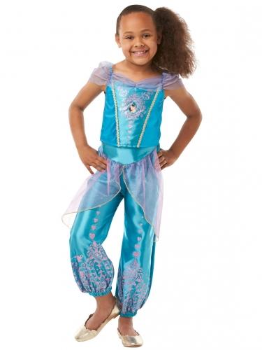 Prinzessin Jasmin™-Disney Kinderkostüm türkis-lila