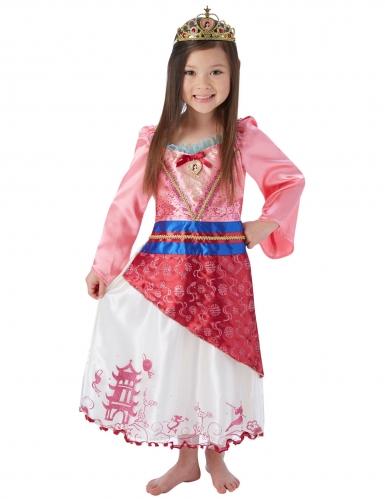 Mulan™-Prinzessin Lizenzkostüm für Kinder bunt