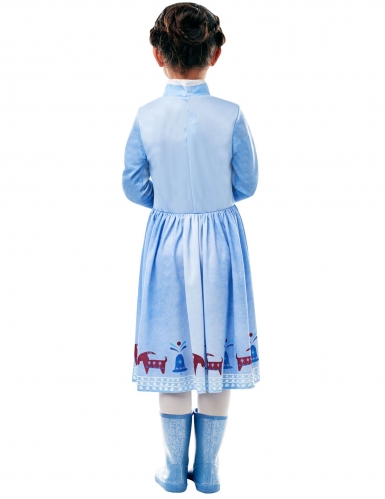 Die Eiskönigin™-Anna Kinderkostüm Olaf™ Lizenz blau-1