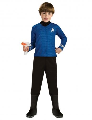 MR. Spock™-Star Trek Kostüm für Kinder Lizenz-Verkleidung blau-schwarz