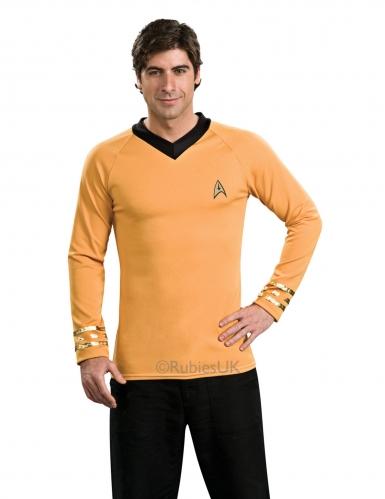 Captain Kirk™-Star Trek Herrenkostüm gelb schwarz