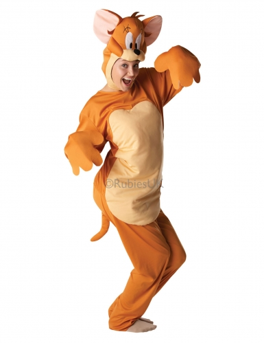 Jerry™-Kostüm Lizenz für Erwachsene braun-beige