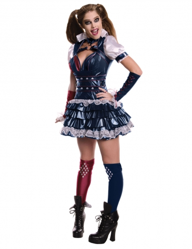 Harley Quinn™ Kostüm für Damen Arkham Knight™