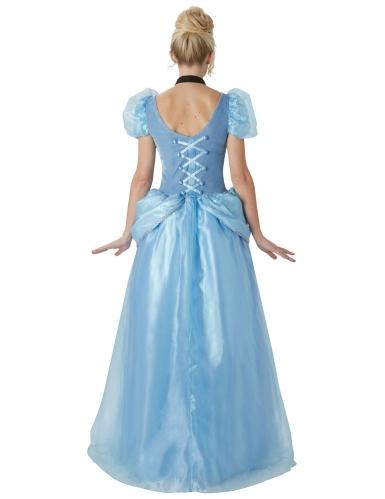 Cinderella™-Disney-Lizenzkostüm Deluxe für Erwachsene blau-1