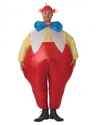 Dideldum und Dideldei™ aufblasbares Kostüm Alice im Wunderland™ bunt