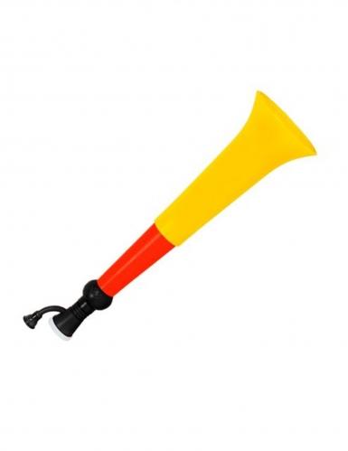 Deutschland Trompete Fanartikel schwarz rot gelb
