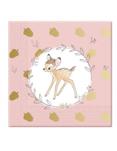 Bambi™-Servietten Tischdekoration 20 Stück bunt 33x33cm