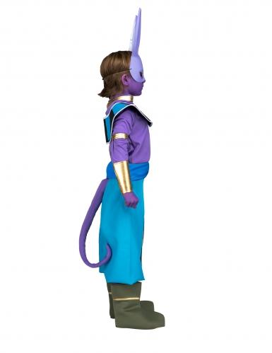 Beerus™ Dragon Ball Lizenzkostüm für Kinder lila-blau-gold-1