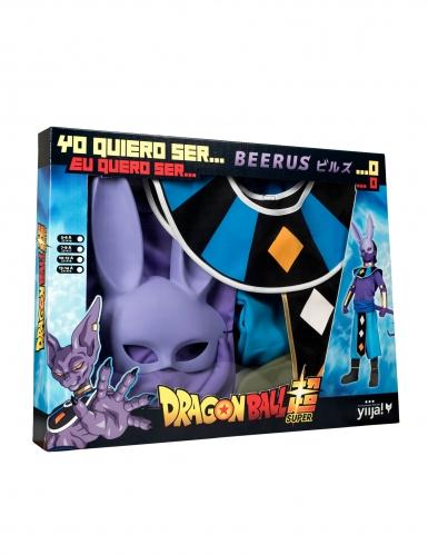 Beerus™ Dragon Ball Lizenzkostüm für Kinder lila-blau-gold-3