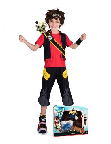 Zak Storm™- Lizenz-Kinderkostüm mit Geschenkbox bunt