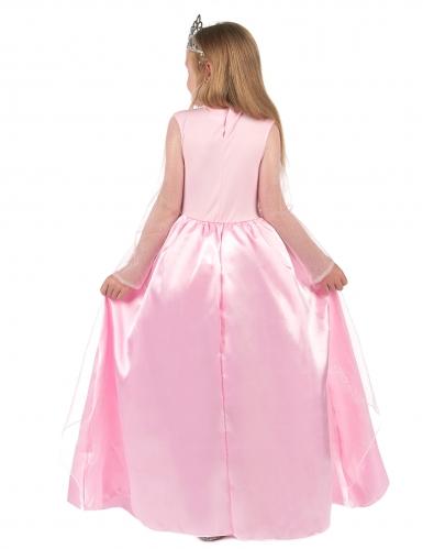 Märchenhaftes Prinzessinnen-Mädchenkostüm rosa-2