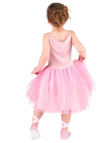Ballerina-Mädchenkostüm Tänzerin rosa-2